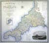 Map Of The County Of Cornwall (From An Actual Survey) ...