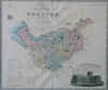 Map Of The County Palatine Of Chester