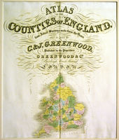 [Title-Page] Atlas Of The Counties Of England : C. & J.Greenwood