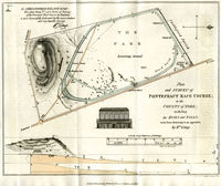 Plan And Survey Of Pontefract Race Course, ... County Of York; : W.Kemp