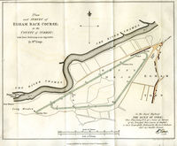 Plan And Survey Of Egham Race Course; ... : W.Kemp