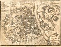 A Plan Of The City Of Wurtzburg : J. Stockdale