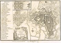 A Plan Of The City Of Hanover : J. Stockdale