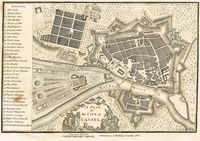 A Plan Of The City Of Cassel : J. Stockdale