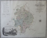 Map Of The County Of Warwick : C. & J. Greenwood