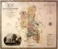 Map Of The County Of Buckingham, From An Actual Survey ... : C. & J. Greenwood