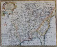 A New & Accurate Map Of Louisiana, With Part Of Florida ... : E. Bowen