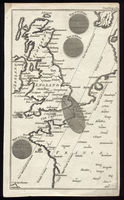 Untitled [Map Of The Path Of The Solar Eclipse, 1764] : Gentleman's Magazine