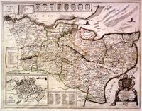 ... This Map Of Kent Is Most Humbly Presented ... : P.Lea