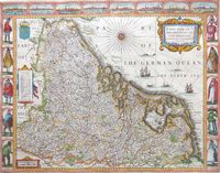 A New Map Of Ye XVII Provinces of Low Germanie ... : J.Speed