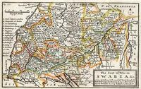 The Seat Of War In Swabia &c ... : H.Moll