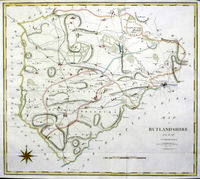 A Map Of Rutlandshire From the Best Authorities : J.Cary / J.Stockdale
