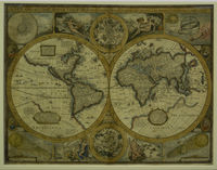 A New And Accurat Map Of The World ... : J.Speed