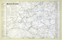 New Railway Map Of London & Suburbs : G.W.Bacon
