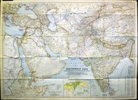 Southwest Asia: India, Pakistan, And Northeast Africa ... : G. Grosvenor / National Geographic