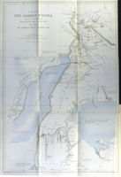 A Map Of The Albert N'Yanza ... Leading To Its Discovery : E.Stanford / Royal Geographical Society