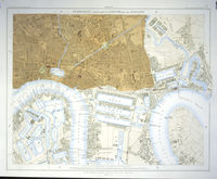 Stanford's Library Map Of London And Its Suburbs... Sheet 12 : E. Stanford