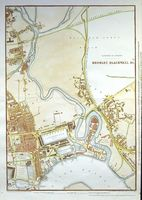 Cassell's Map Of The Suburbs Of London. Bromley, Blackwall &c. : E. Weller / Cassell