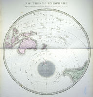 Southern Hemisphere Projected On The Plane Of The Horizon Of The Antipodes Of Lo : G. Philip