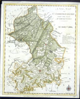 A New Map Of Cambridgeshire From The Best Authorities : J. Murray