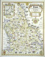 Esso Pictorial Plan Of The North Moor, Mountain And Lake District : A. E. Taylor