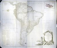 A Map Of South America Containing Terra-Firma, ... : R. Sayer