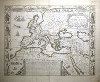 A New Mappe Of The Romane Empire ... : J. Speed / C.Browne