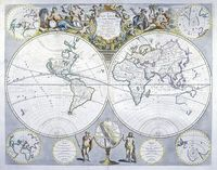 A New Map Of The World From The Latest Observations ... : J. Senex