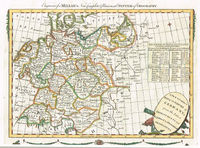 A New And Correct Map Of The Empire Of Germany, From The Latest Improvements And Regulated By Astronomical Observations : Millar