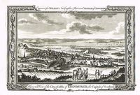 A General View Of The City & Castle Of Edinburgh, The Capital Of Scotland : Morris