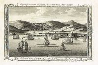 A General View Of Tunis, A Celebrated Town In Barbary : Sherwin