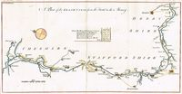 A Plan Of The Grand Canal From The Trent To The Mersey : Anonymous/Gentleman's Magazine