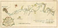 A Plan Of The River Salwarp And Of The Navigable Canal, From Droitwich ... : J. Lodge / Gentleman's Magazine