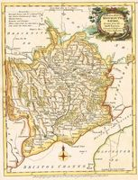 A Modern Map Of MonmouthShire, Drawn From The Latest Surveys ... : J. Ellis