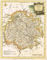 A Modern Map Of Herefordshire, Drawn From The Latest Surveys ... : J. Ellis