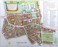 A Mapp Of The Parish Of St. Giles's In The Fields... : J. Stow / J. Strype