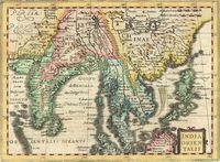 India Orientalis : G. Mercator / J. Cloppenburgh.