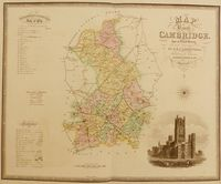 Map of the County of Cambridge From an Actual Survey : C. & J. Greenwood