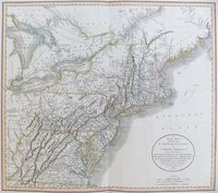A New Map Of Part Of The United States Of North America ... : J. Cary