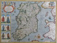 The Kingdome Of Irland Devided Into Severall Provinces ... : J. Speed