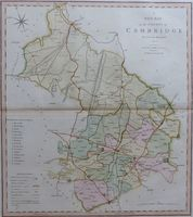 A New Map Of The County Of Cambridge : C. Smith