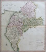 A New Map Of The County of Cumberland : C. Smith