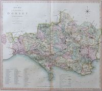 A New Map Of The County of Dorset : C. Smith