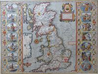 Britain As It Was Devided In The Tyme Of The Englishe Saxons ... : J. Speed