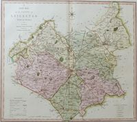 A New Map Of the County Leicester : C. Smith