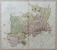 A New Map Of the County of Middlesex : C. Smith