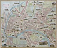 Illustrated Plan of the City of Bath : F. Curtis