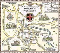 A Plan Of The City of Durham in the County of Durham : A. E. Taylor