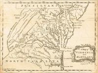 A Map of Virginia and Maryland : H. Gavin