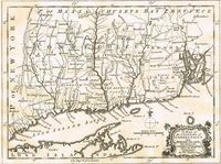 A Map of the Colonies of Connecticut and Rhode Island, Divided into Counties & townships, from the Best Authorities : T. Kitchin